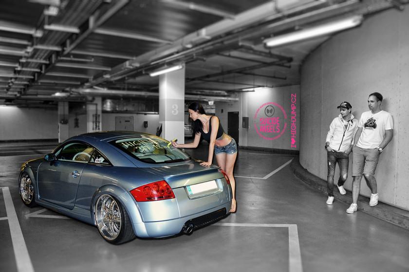 Veronika + Audi TT