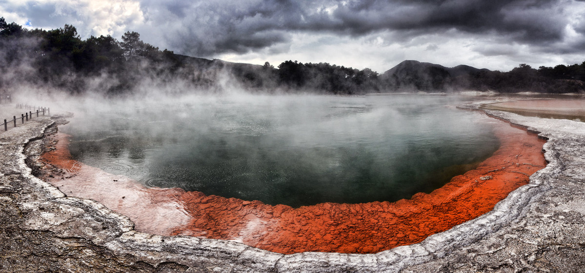 Rotorua - Waiotapu - Panorama